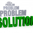 Focus On Solution, Not Problems — Foto Stock