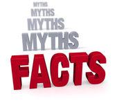 Skupić się na faktach — Zdjęcie stockowe