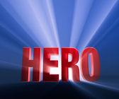 Bold Hero — Stock Photo