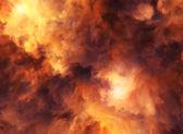 Czerwony sztorm szaleje — Zdjęcie stockowe