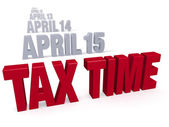 Tax Time Approaches — Foto de Stock