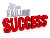 Success After Failure — Stockfoto