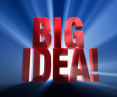 Big Idea! — Stock Photo