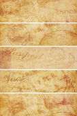 Vintage Travel Background Banners — Photo