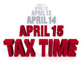 Tax Time Is Coming — Foto Stock