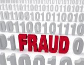 Computer Fraud — Stock Photo