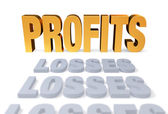 Profits At Last — Stock Photo