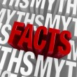 The Facts Emerge — Stock Photo