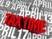 April 15th, Tax Time — Stock Photo