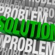 Surrounded By Problems, Solution Emerges — Foto de stock #41438753