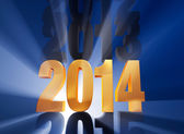 It's 2014! — Stock Photo