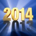 2014 Replaces 2013 — Stock Photo