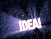 New Idea! — Stock Photo