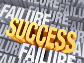 Success Emerges From Failure — Stock Photo