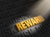 Highlighting Rewards Versus Risk — Stock Photo