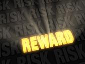The Reward Beats The Risk — Foto Stock