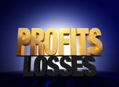 Profits Vanquish Losses — Stock Photo