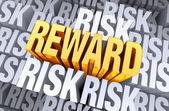 Reward Rises From Risk — Stock Photo