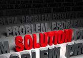 Solution! — Foto Stock