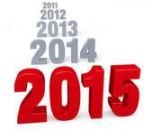 2015 Arrives — ストック写真