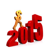 Economy Improves in 2015 — Stock Photo