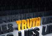 Sanningen! — Stockfoto