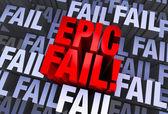 An Epic Fail — Stock Photo