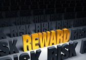 Reward In Risk — Stock Photo