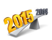 2015 Weighs In! — Stock Photo