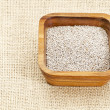 White chia seeds - Foto de Stock