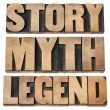 Stock Photo: Story, myth, legend
