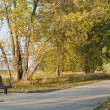 Стоковое фото: Recreational biking trail