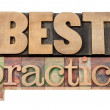 Best practice in wood type — Stock Photo #13688951