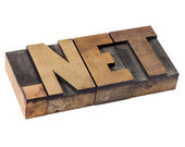 Dot net - internet domain — Stock Photo