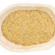 Golden flax seeds — Stock Photo #13854495