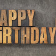 Happy Birthday! - Stockfoto
