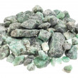 Raw emerald gemstones - Stockfoto