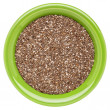 Bowl of chia seeds — Stock Photo #15429171