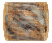 Rustic grunge cutting board — Stock Photo