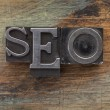 SEO - search engine optimization — Stock fotografie