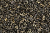 Gunpowder green tea — Stock Photo