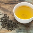 Gunpowder green tea - Stock Photo