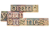 Brand your business — Stock Photo
