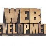 木材の種類の web 開発 — ストック写真