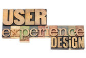 User experience design — Stock Photo