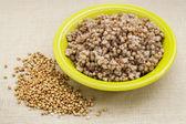 Buckwheat kasha cooked — Stock Photo