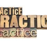Постер, плакат: Practice motivation concept