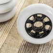 Wheels for inline skating — Stockfoto