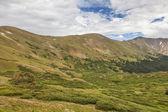 Zona alpina di montagna rocciosa — Foto Stock