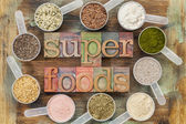 Superfoods — Foto Stock
